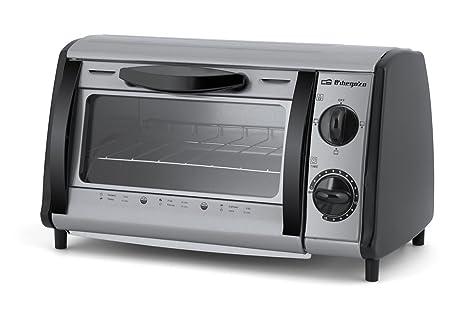 Orbegozo HO 810 A Mini horno- tostador multifunción, 800 W, 8 litros, Gris