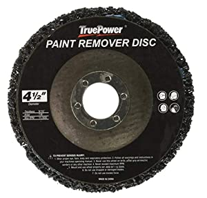 "4 Pack 4-1/2"" x 7/8"" Replacement Disc for Paint & Rust Remover, Stripper"