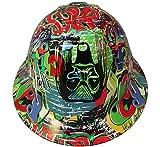 Texas America Safety Company Hydro Dipped Full Brim Style Hard Hat - Graffiti