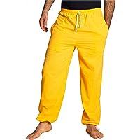 Panasiam Pantalones de tela para uso diario, deportes, yoga, correr etc., para personas altas a partir de 1,80 m De 100…