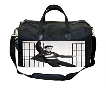 062b38318f Image Unavailable. Image not available for. Color  Elvis Presley Jailhouse Rock  Sports Bag