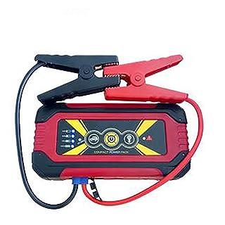 Portable 12V 600A/900A Car Power Battery Booster Petrol Diesel Car-Stlying Car Jump Starter,Black