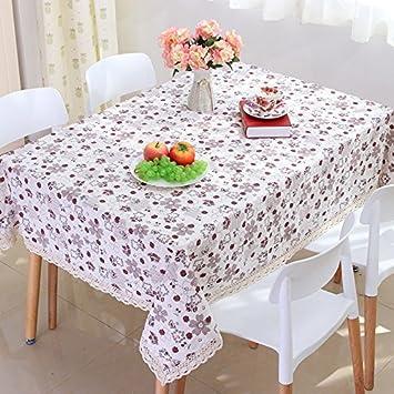JY$ZB Pequeños manteles de algodón ropa de moda y fresca decoración floral con tela de toalla de tela para el hogar partido restaurante del hotel, ...