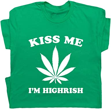 Funny Humor Kiss Me Im Irish Sweatshirt Black