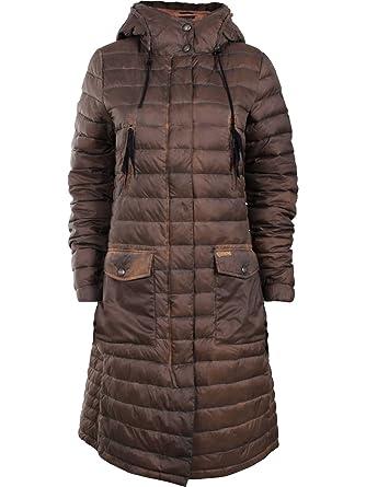 Khujo Mujer Abrigo rinara Edredón Abrigo Chaqueta de Invierno Forrada Caramel (521) Medium: Amazon.es: Ropa y accesorios