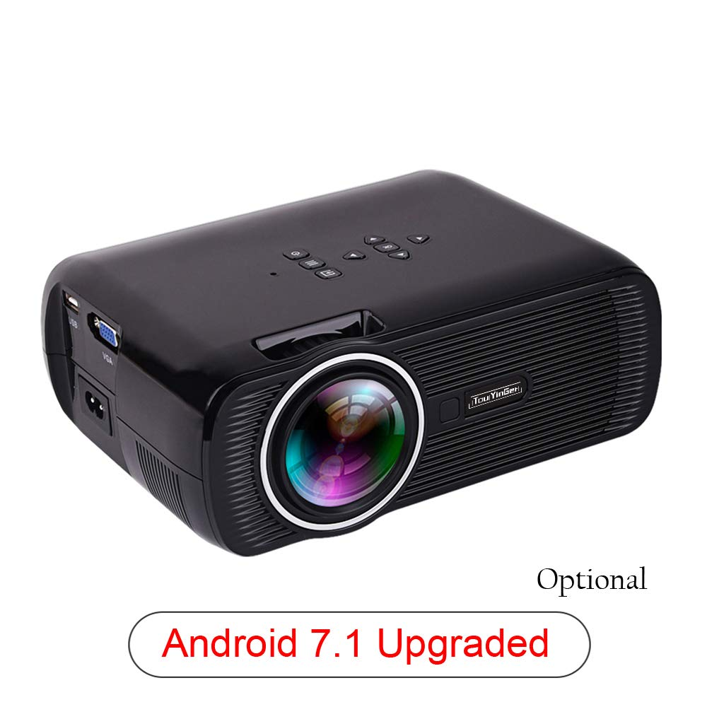 FAY Mini proyector portátil, HD Android Home Cinema Proyector ...