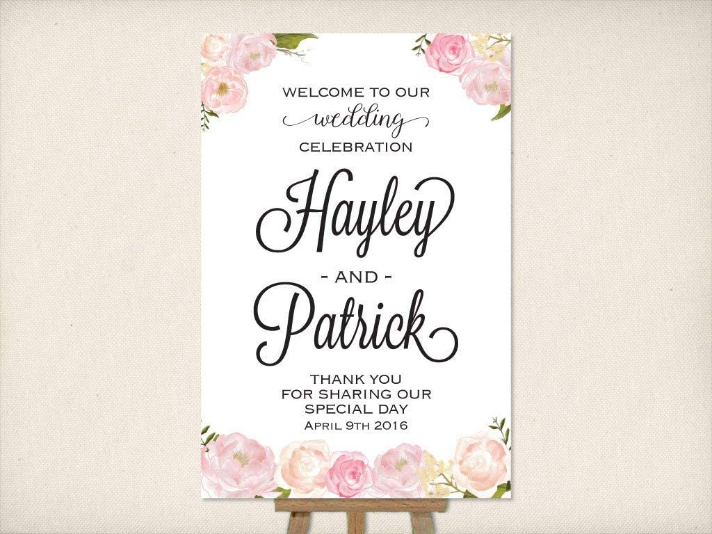 Unframed Party Sign Choose Foil Color Thank You for Sharing Our Special Day Cards And Gifts Wedding Sign made with Real Gold Foil-Pressed Ceremony Decorations and Table Signage