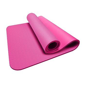 KKCD Estera de Yoga Acolchada Grande con asa para Pilates ...