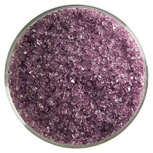Bullseye Light Violet (Light Violet Transparent Medium Frit - 4oz - 90COE - Made from Bullseye Glass)
