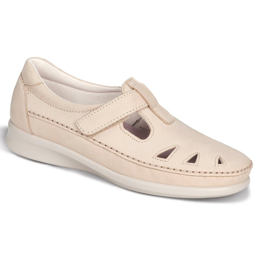 SAS Women's Roamer Slip-on B01M30ETMY 6 WW - Double Wide (D) US|Linen