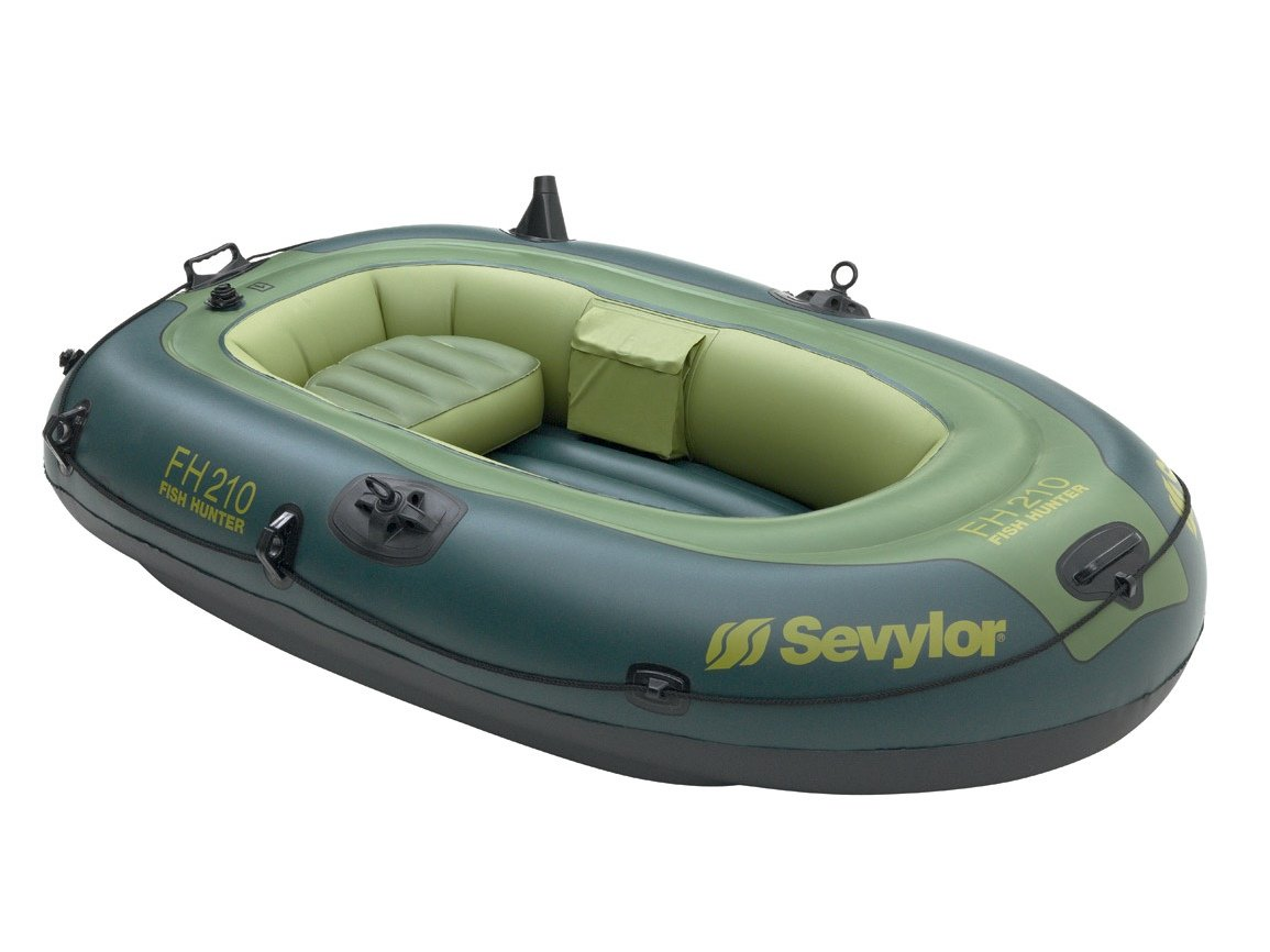 Sevylor - Barco de pesca hinchable Fish Hunter FH210 - 1 ...