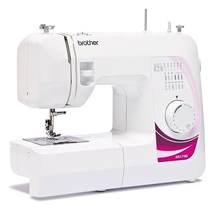 Brother Máquina de coser xn1700, Aloja Bobina, 17 punto de programas