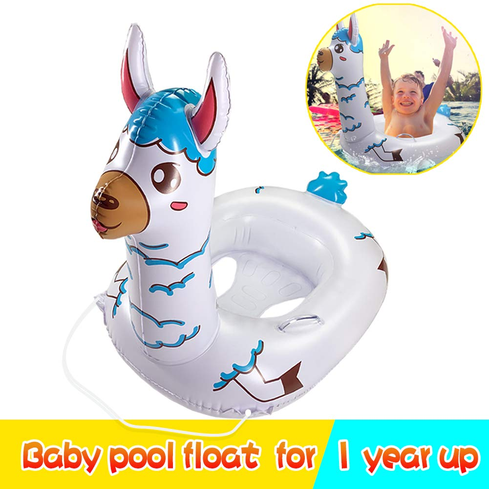 TRSCIND Baby Pool Float, Pool Floats for Kids, Toddler Pool Float with Safety Rope Swimming Float for Kids Toddlers 1-7 by TRSCIND (Image #1)