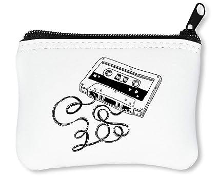 Hipster Cassette Tape Retro Billetera con Cremallera ...