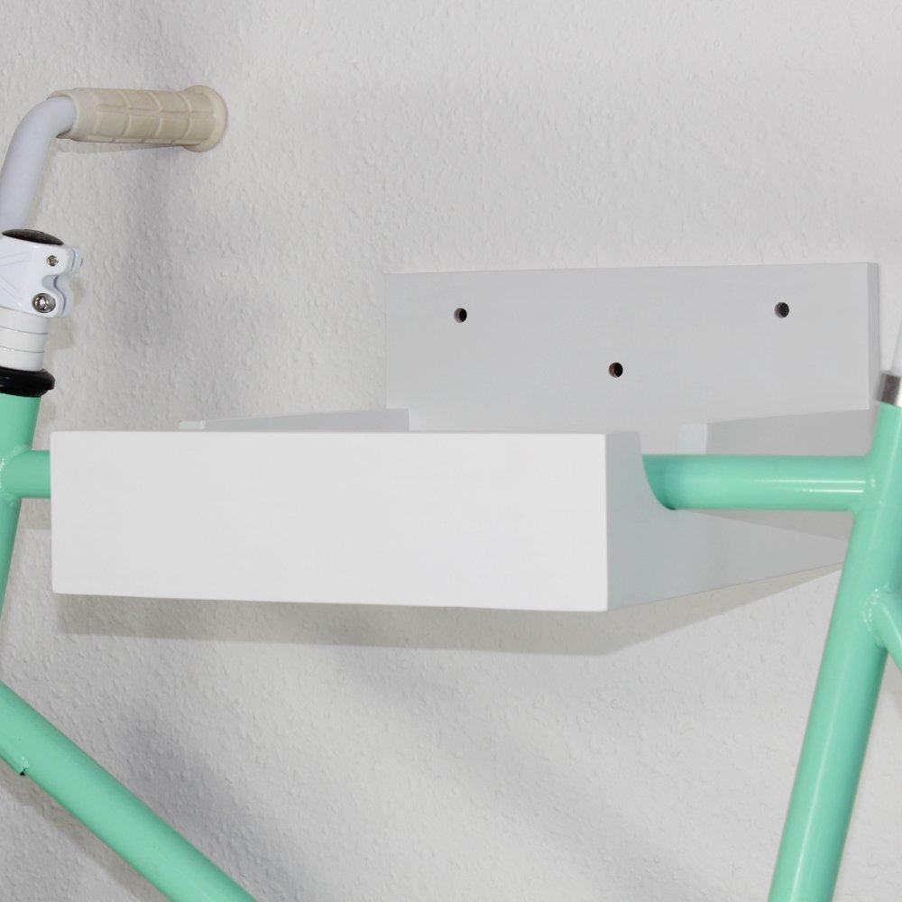 URBAN ZWEIRAD Bicycle 370/Holder Shelf in Hevea Wood/ /In