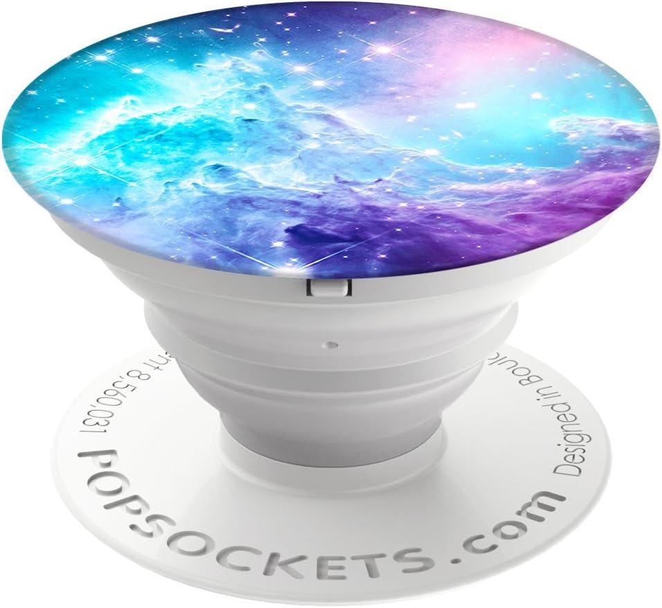PopSockets PopGrip - Soporte y Agarre [No Intercambiable] para Teléfonos Móviles y Tabletas - Monkeyhead Galaxy: Amazon.es: Electrónica