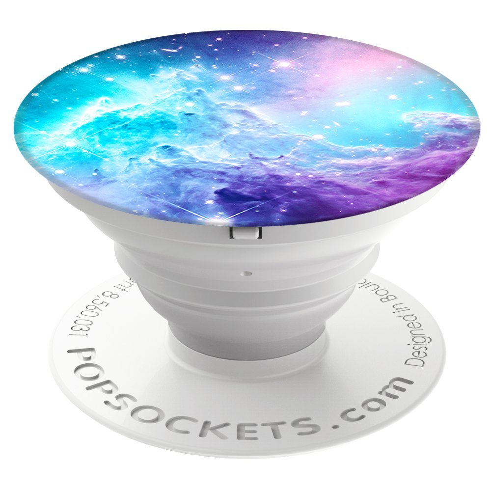 PopSockets: Collapsible Grip & Stand for Phones and Tablets - Monkeyhead Galaxy PopSockets Wireless 707391