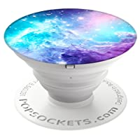 PopSockets 707391 Collapsible Grip and Stand for Phones/Tablets - Monkeyhead Galaxy