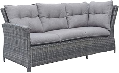 Amazon Com Best Choice Products 3 Seat Outdoor Wicker