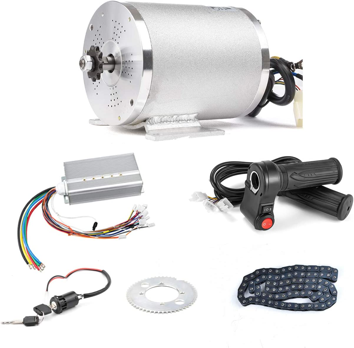 Kunray BLDC 72V 3000W Brushless Motor Kit
