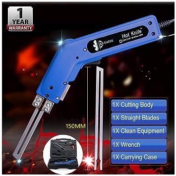 FUTERLY - Cortador de cuchillos eléctrico de mano y sellador de ...