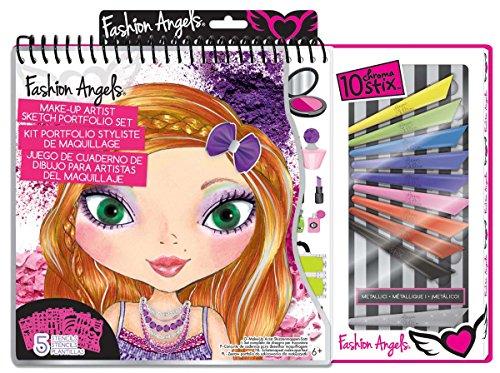 Make-Up Artist Sketch Portfolio Set