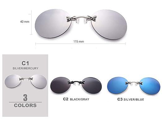 Morpheus Estilo gafas de sol, Sin borde / Humo lentes de ...
