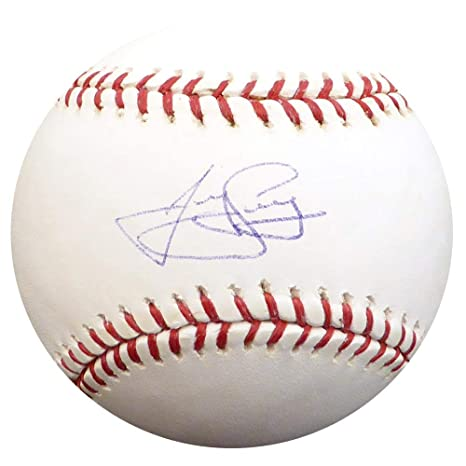 new concept 9d2c3 d231a James Loney Signed Baseball - Official Los Angeles Dodgers ...