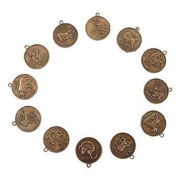 Amazonde Magideal 12 X Chinesische Münzen Als Glücksbringer Feng