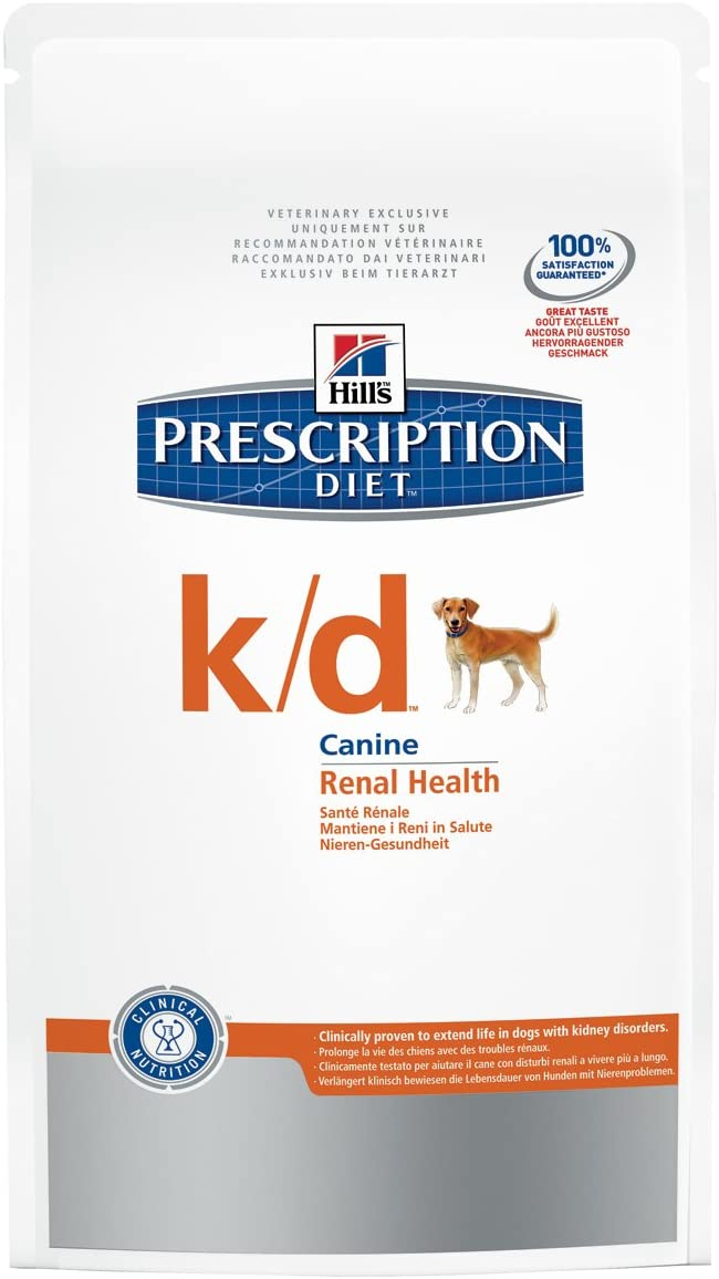 Hills Canine K/D Comida para Perros - 12000 gr: Amazon.es: Productos para mascotas