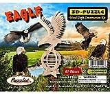 Puzzled Eagle 3d Natural Wood Puzzle