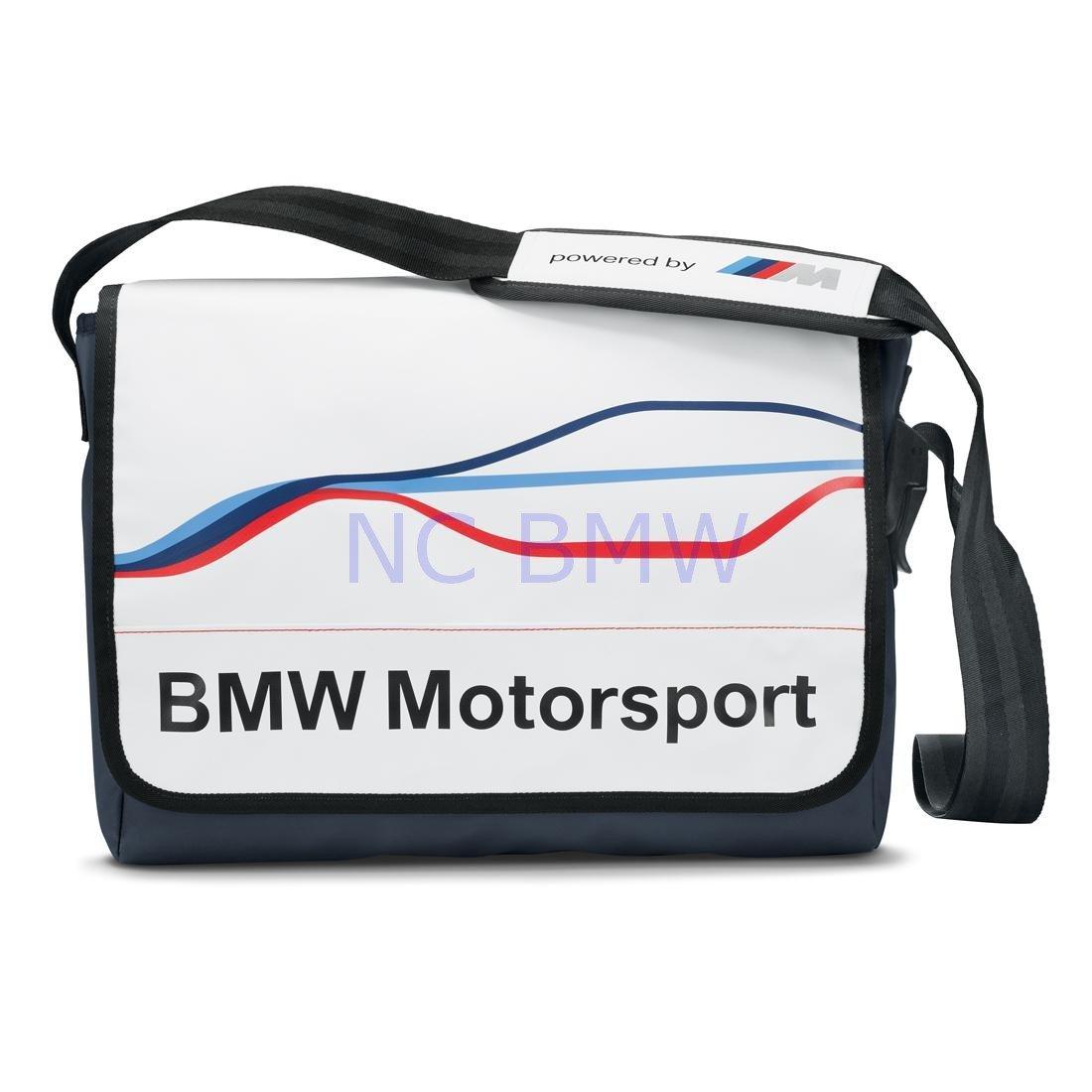BMW Genuine Life Style Motorsport Sport Carry Messenger Bag