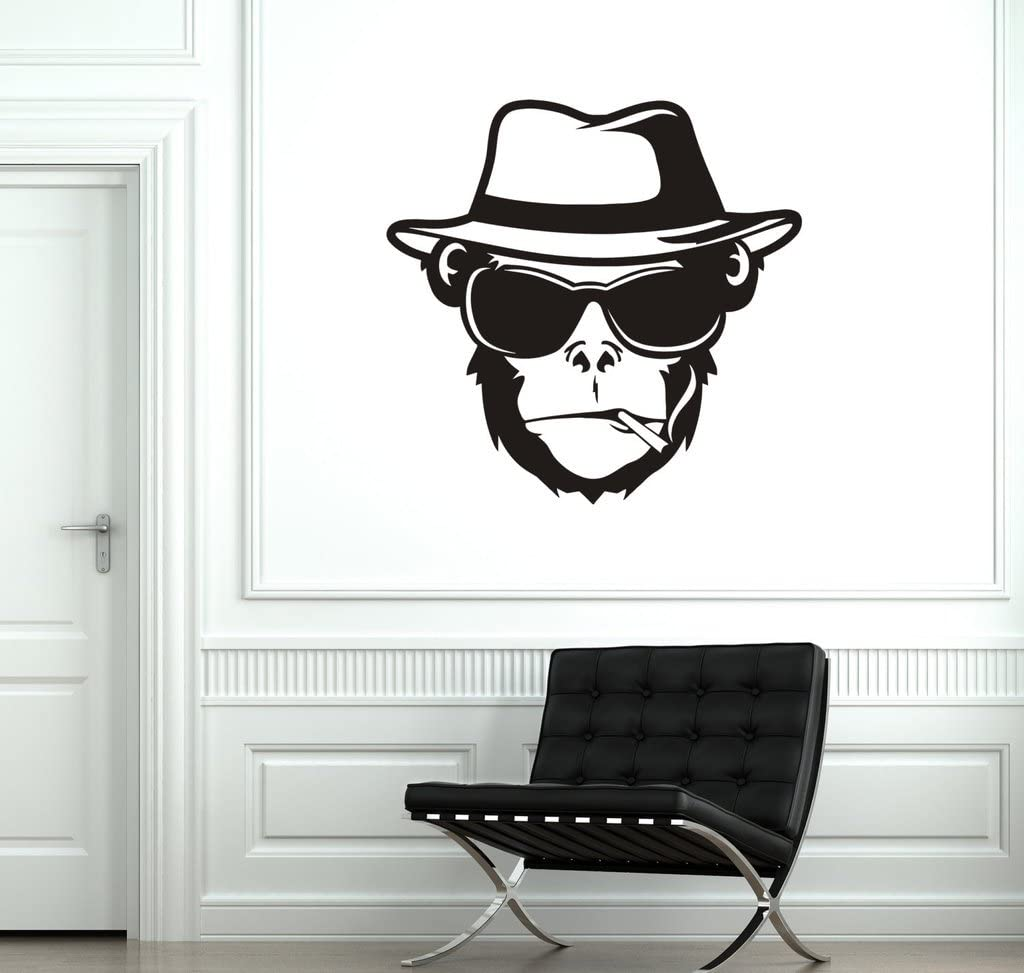 Bowler Hat and Glasses Stickers Pack of 60 Moustache