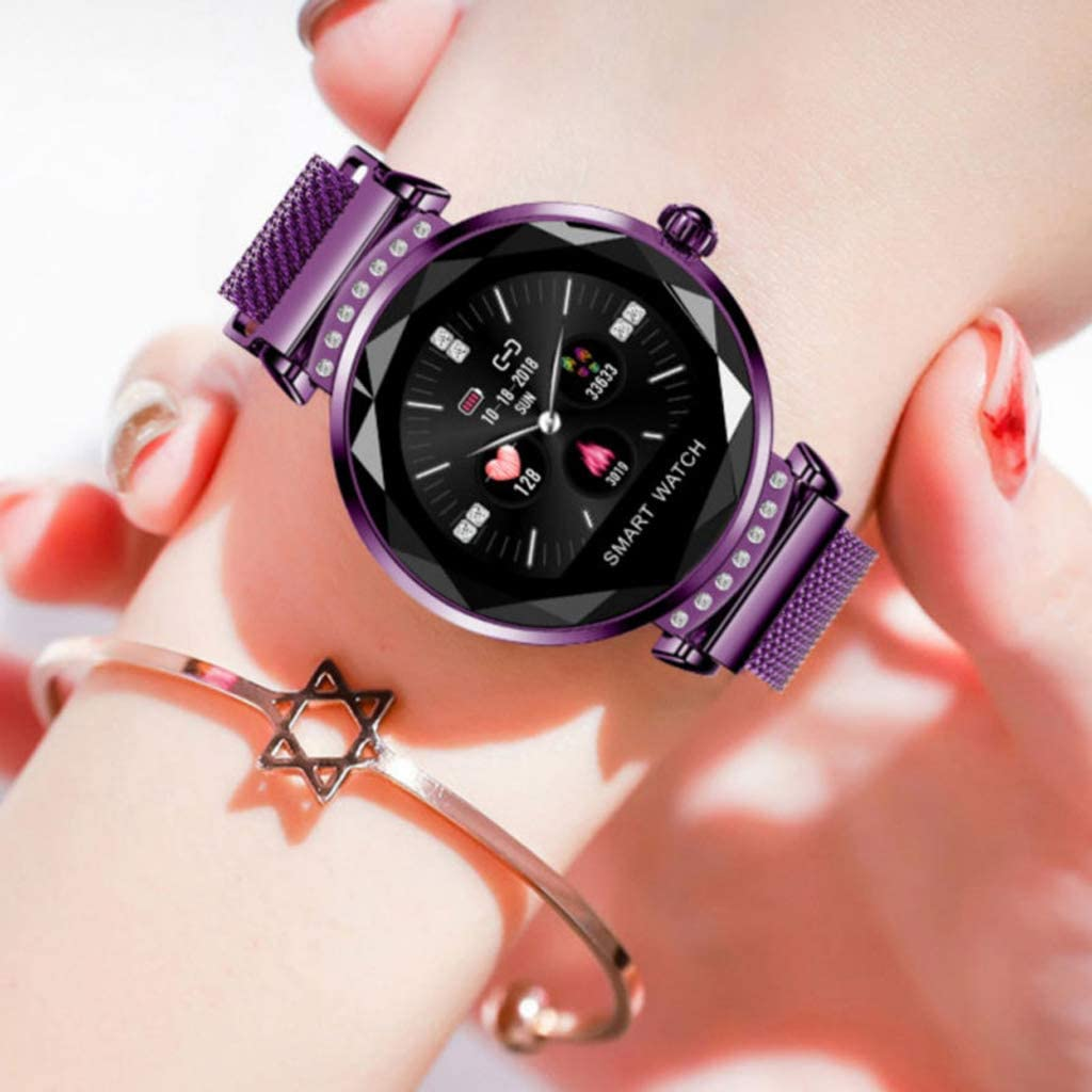 Amazon.com: Women Smart Watch, Fashion H2 Smart Wristband ...