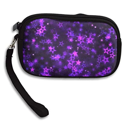 783dd41be230 Amazon.com: Falling Star Shapes Animation Loop Purple Canvas Coin ...