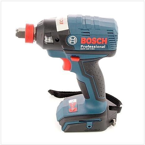 Bosch GDX 18 V-EC - Destornillador de impacto inalámbrico: Amazon.es ...