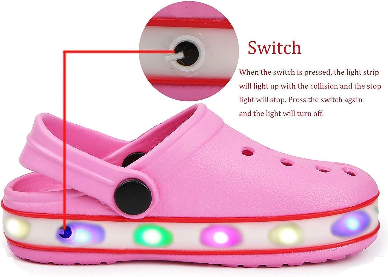 VIYEAR Garden Clogs Slippers for Kids Boys Girls