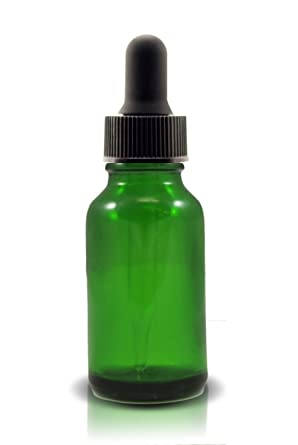 Amazon.com: 1/2 oz (15 ml), color verde Boston Ronda Botella ...