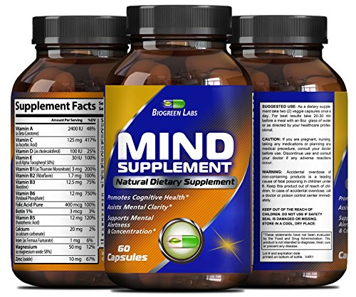Natural Mind Memory Supplement Performance