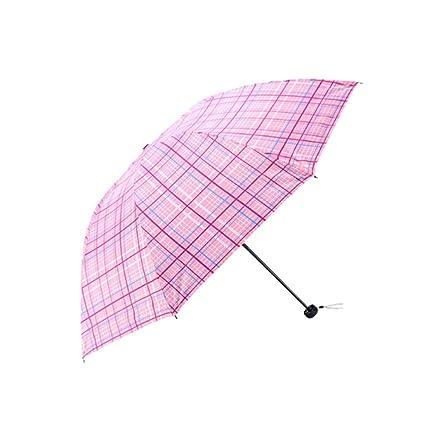 KXBYMX 30 por ciento de Paraguas de Vinilo, Paraguas UV, Paraguas de Viaje,