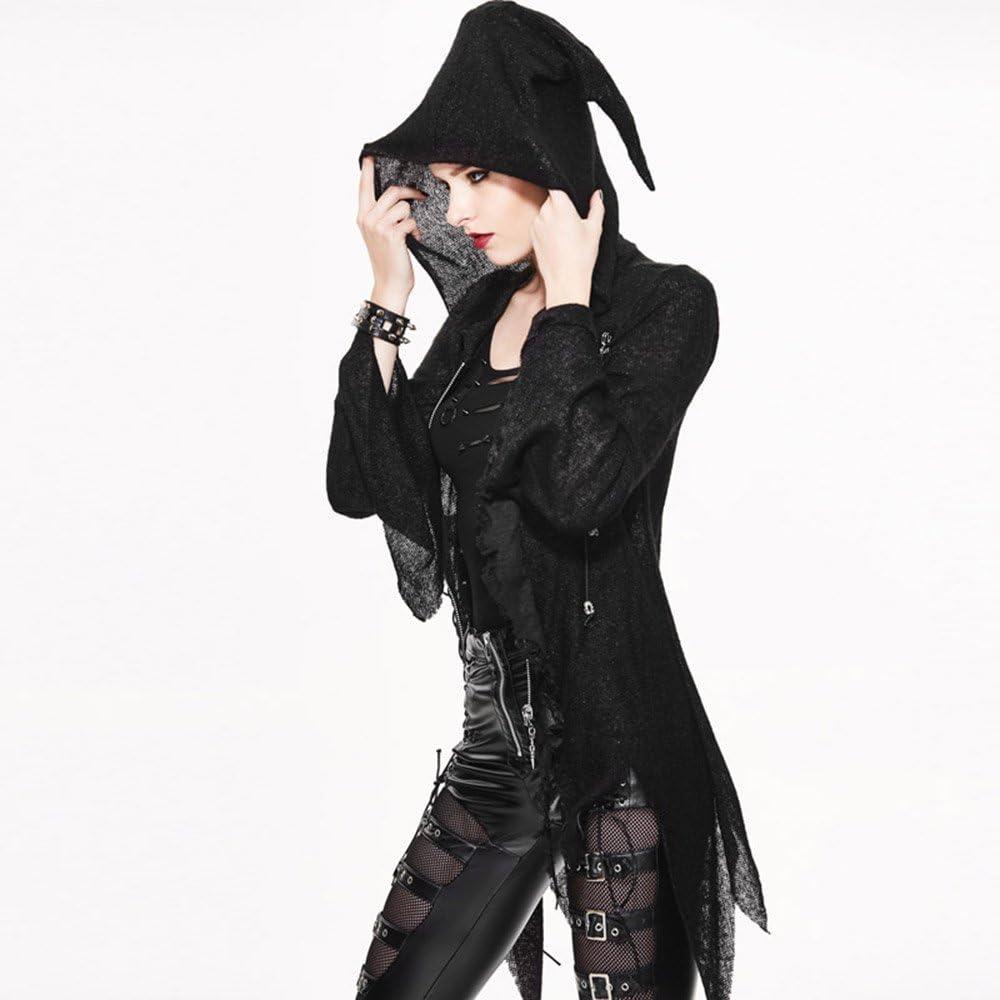 xtsrkbg Mens Lace Up Long Sleeve Gothic Steampunk Shirt Hoodie Tee Tops Sweatshirt