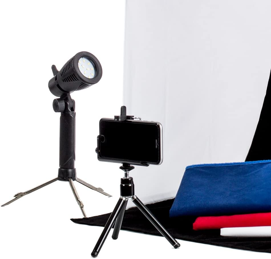 Fovitec Multi Uses Quick Set-Up Collapsible 1x 5 in 1 Reflector Photography Portrait Light Panel w//Stand System - Lightweight