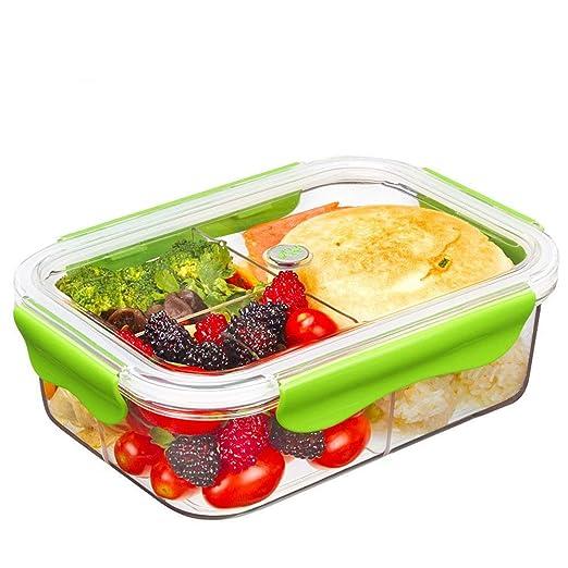 Tritan Plastico Contenedor Alimentos Hermetico, Recipientes Comida ...