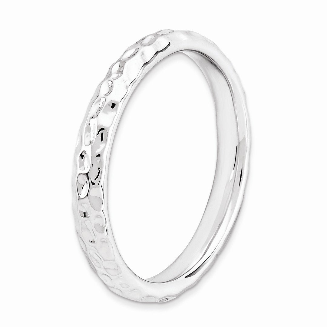 ICE CARATS 925 Sterling Silver Band Ring Size 7.00 Stackable Fancy/Fine Jewelry Ideal Gifts For Women Gift Set From Heart by ICE CARATS (Image #4)