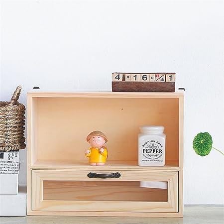 Organizador de Archivos de Mesa Cajón de madera maciza creativa ...