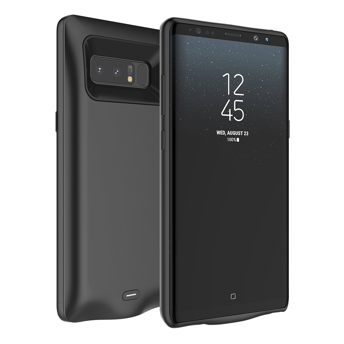 Moonmini Samsung Galaxy Note 8 Battery Case 5500mah Charger Circuit Schematic Index 25 Power External Rechargeable Portable Extended Pack Bank Backup Charging