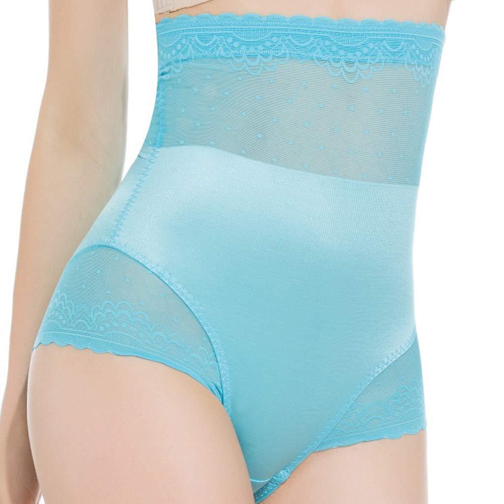c94c0cd1093 Amazon.com  Mbtaua Women Body-Shaping Lingerie Sexy Lace Bottom Pant No  Trace High-Waist Bottom Underwear  Kitchen   Dining