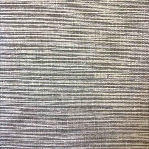 Silver Faux Textured Wallpaper - Wallpaper Textured Vinyl Faux Metallic Silver Gloss Sisal Grasscloth on Gray