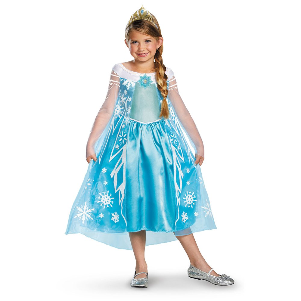 Disney's Frozen Elsa Deluxe Girl's Costume