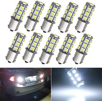 1156 Stock Park Parking Back Up Tail Light Signal Lamps Bulbs Box 10 12 Volt